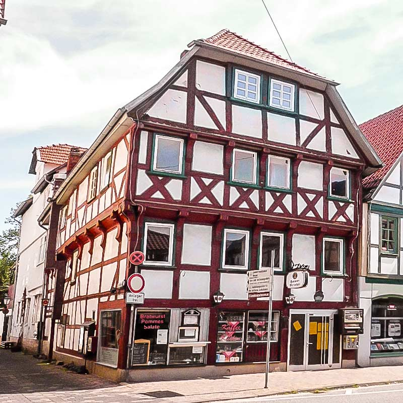Ältestes Wohnhaus - Rotenburg a.d. Fulda
