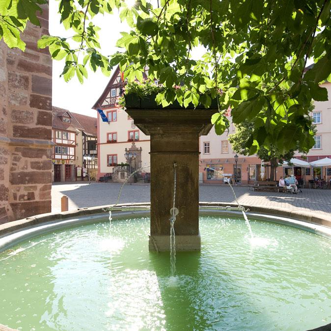 Kump-Brunnen - Rotenburg a.d. Fulda
