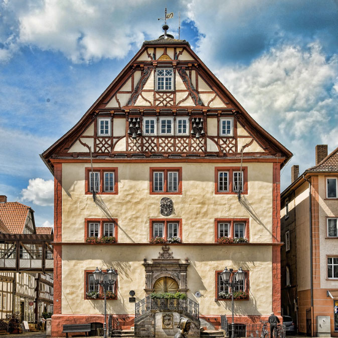 Marktplatz Rotenburg a.d. Fulda