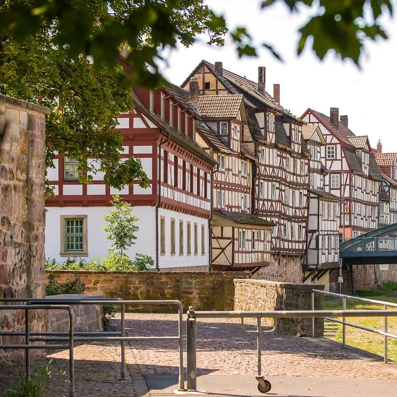Marstall (Fuldaseite) - Rotenburg a.d. Fulda
