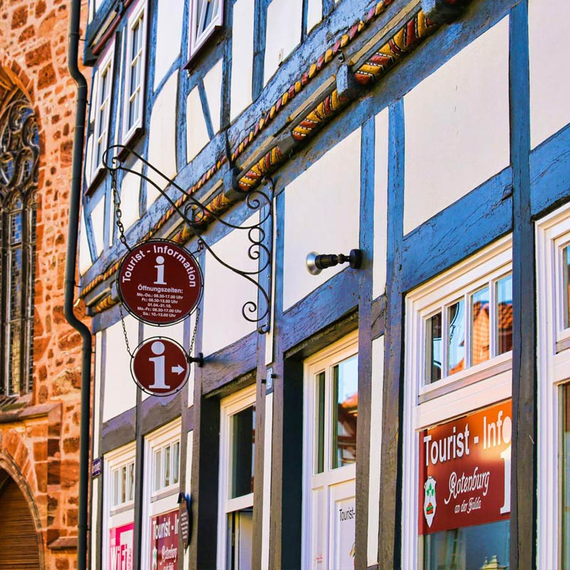 Touristinfo - Rotenburg a.d. Fulda